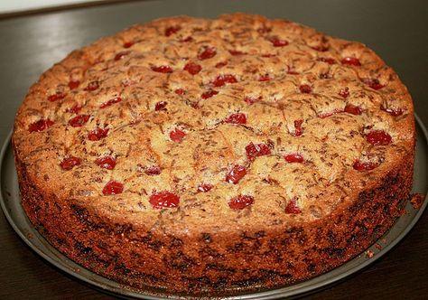 Schoko - Kirsch Kuchen #recipeformarshmallows