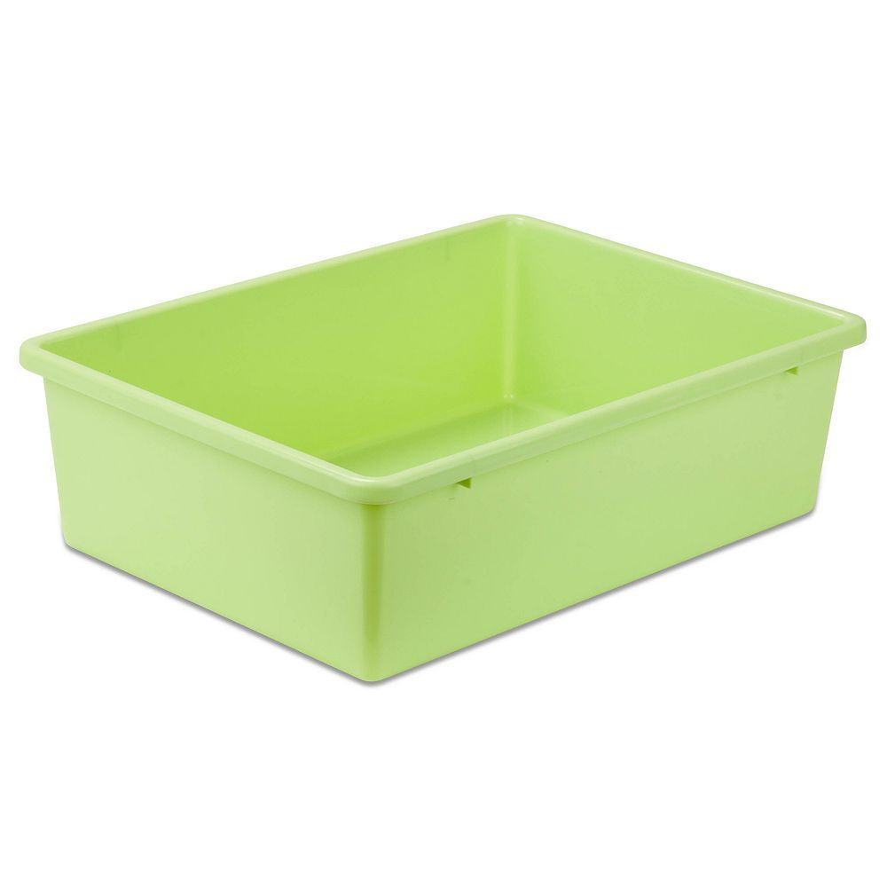 Honey Can Do Plastic Bin, Green