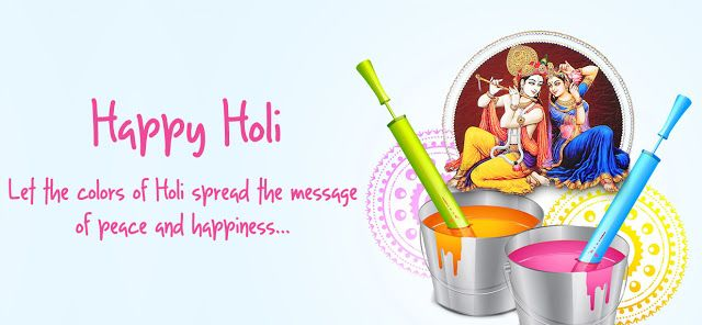 Happy Holi Wallpapers With Quotes Images With Quotes Happy Holi