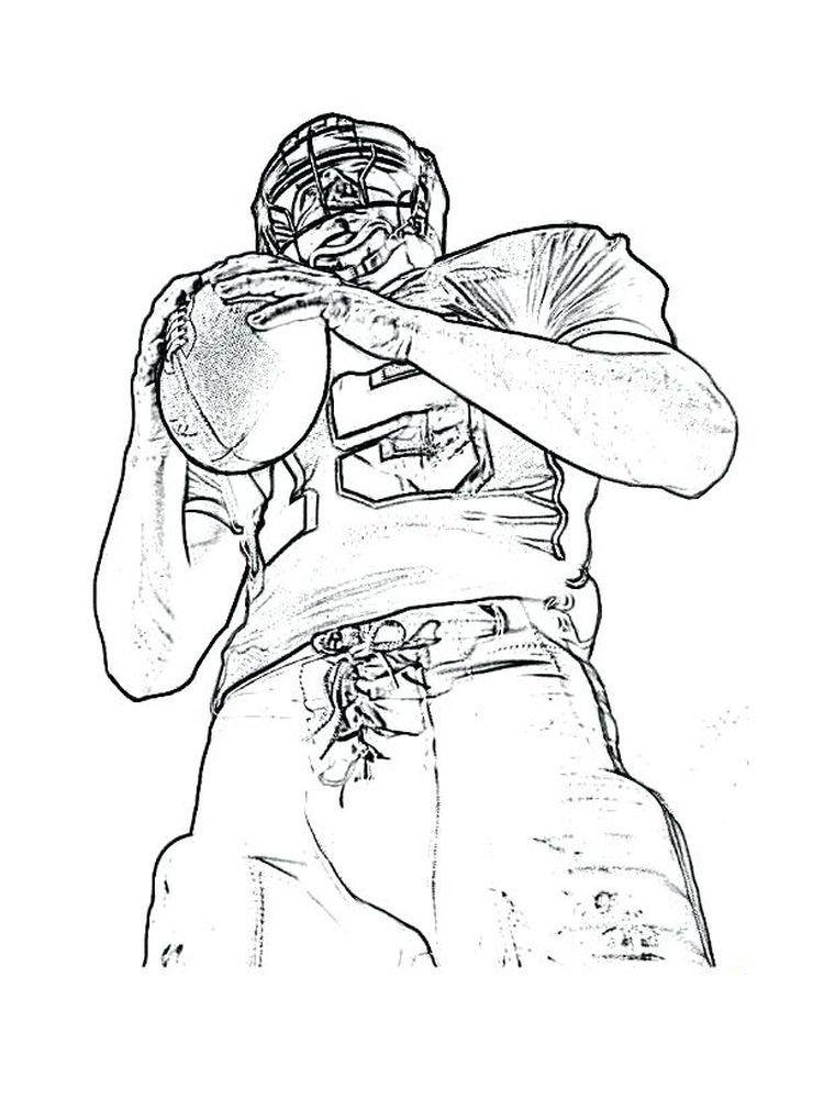 Dallas Cowboys Coloring Pages 010 (Dengan gambar)