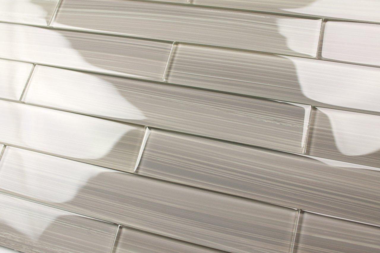 Best Glass Subway Tile Backsplash Gray Glass Subway Tile 400 x 300