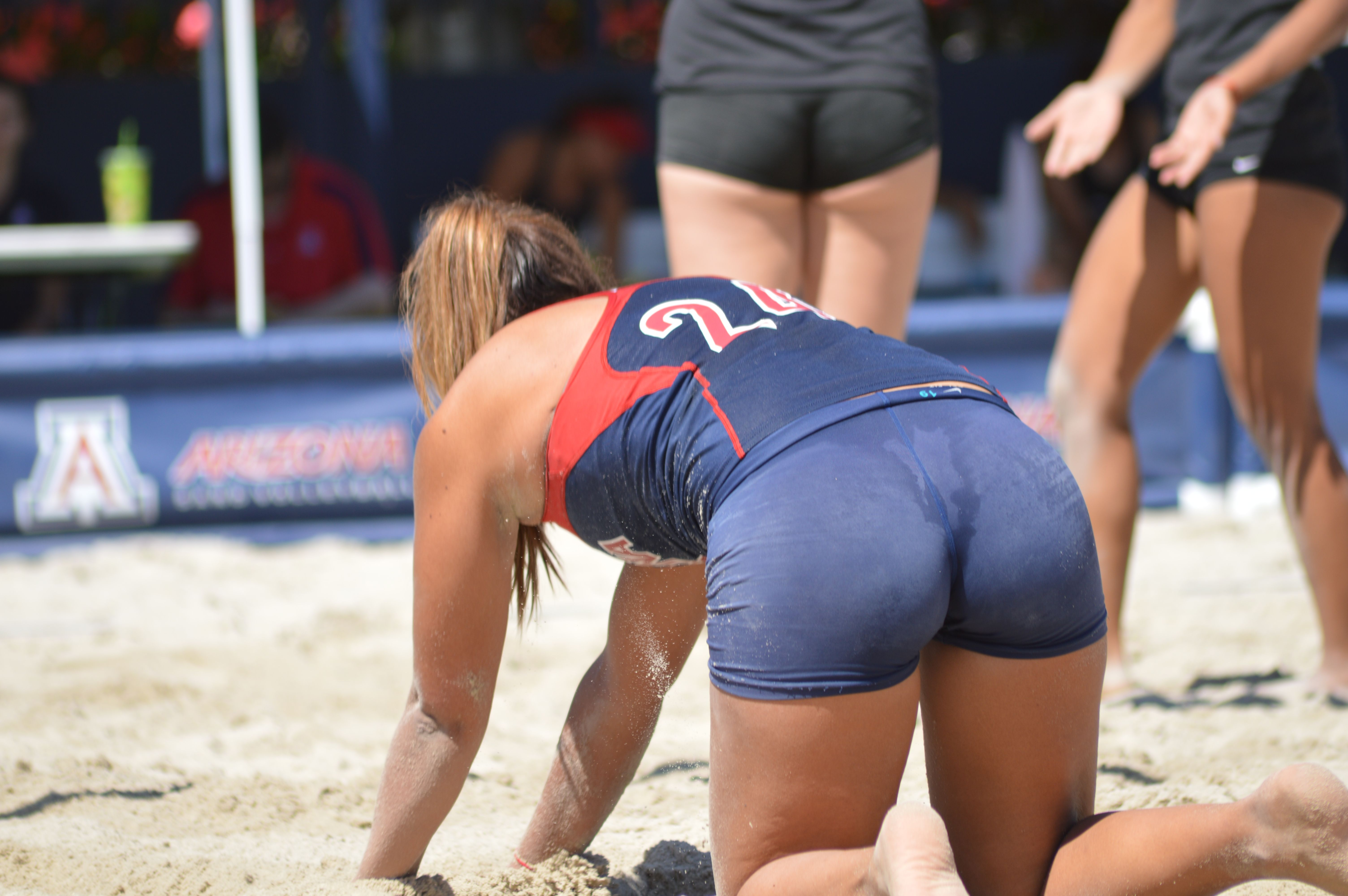 Pin On V Ball And Sexy Booty Shorts