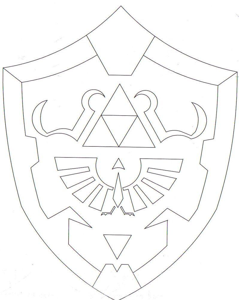 Hylian Shield by Protowing Zelda birthday, Zelda party
