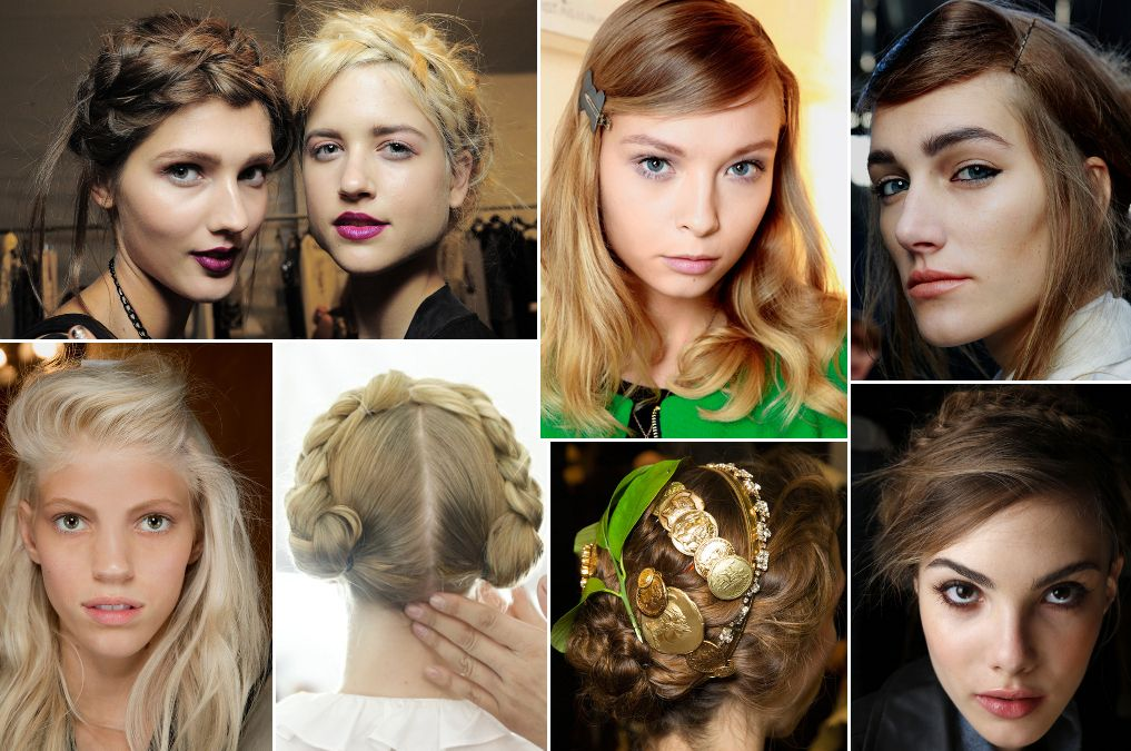 Hairstyle Trends From Fashion Week Spring 2014