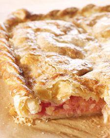 Apple Raspberry slab pie. This delicious pie recipe is courtesy of Lucinda Scala Quinn.