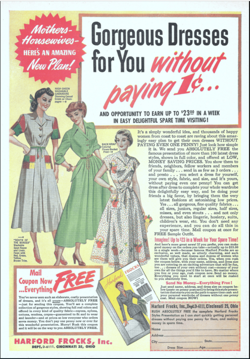The Vintage Advertisements For Work From Home Jobs The Vintage Inn Vintage Advertisements Neighborhood Party Vintage Blog