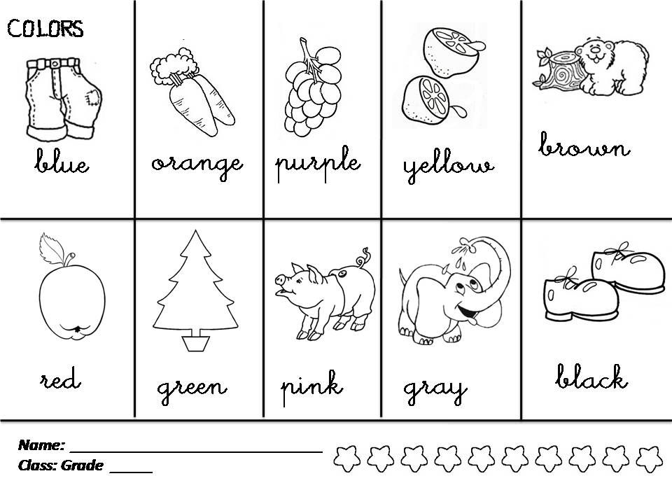 Enjoy Teaching English: COLORS | Colors | Pinterest | English ...