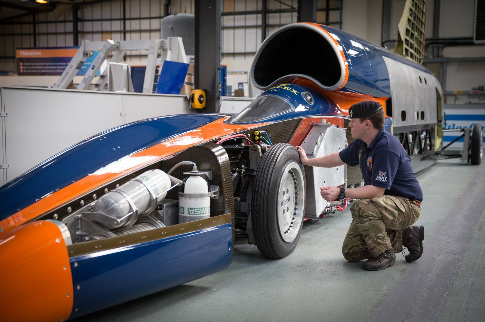 bloodhound's land speed record revivedchinese car giant - http