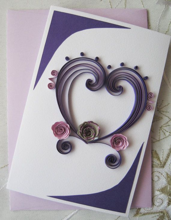 Ideas For Making Greeting Cards At Home Part - 33: Hand Made Gretting For Valentine Day | Home Concepts Ideas. Birthday Cards  ...