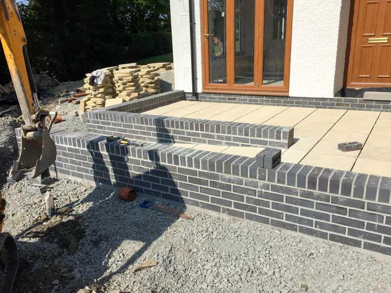 Image Result For Concrete Ramp At Brick Wall Garden Wall Patio Brick Garden