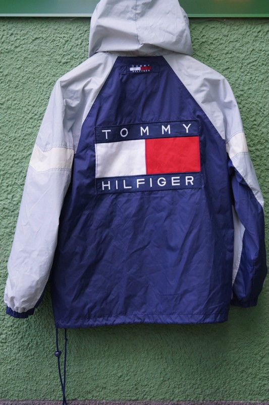 Vintage Tommy Hilfiger Rare Jacket Size S M Clothes In 2018