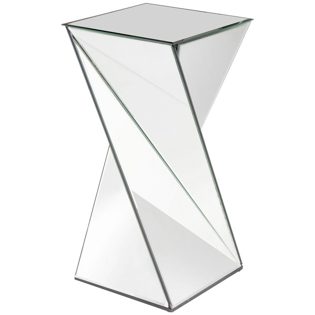 Howard elliott aries twisted mirrored end table products howard elliott aries twisted mirrored end table geotapseo Image collections