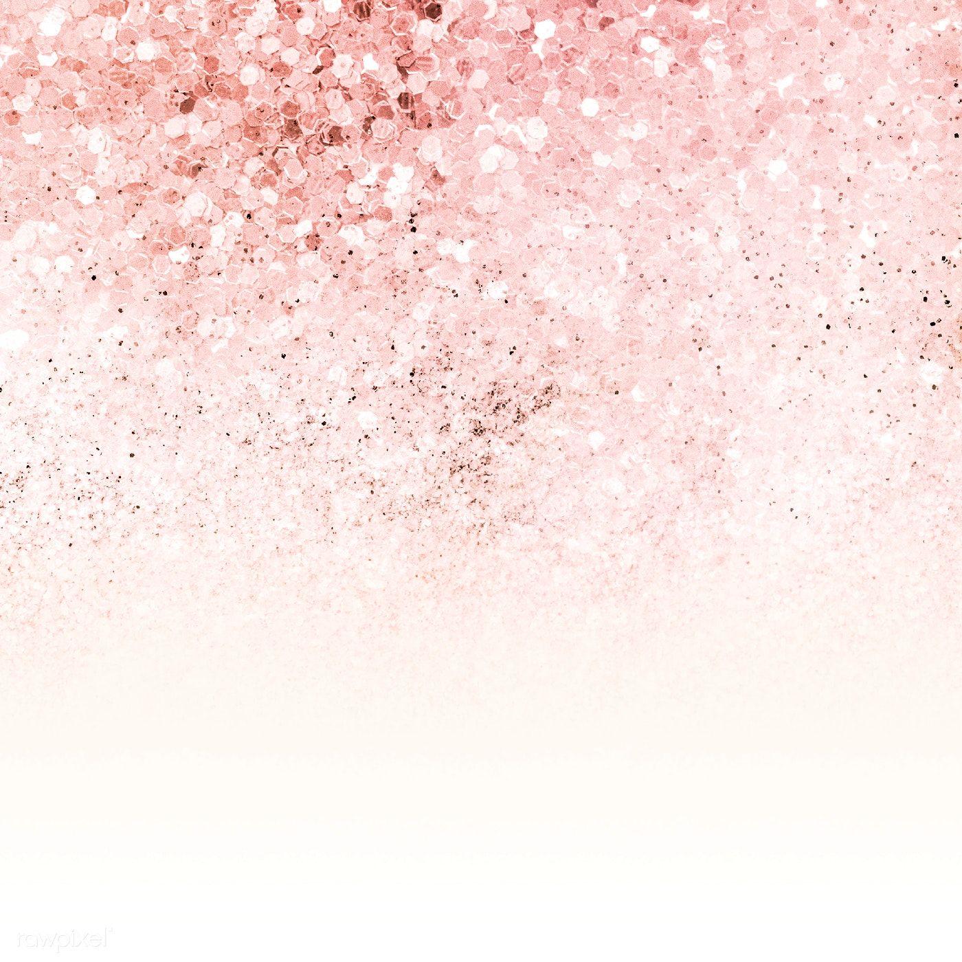 Download premium illustration of Pink ombre glitter