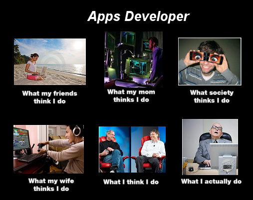 Very Funny Developers Technology Funny Apptous
