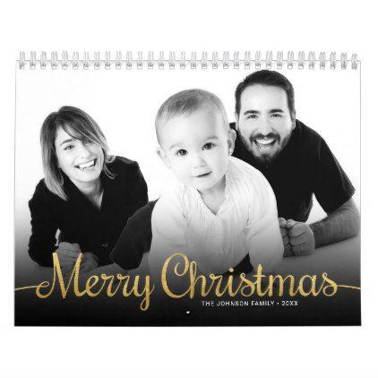 Calendars 2018 Family Photo Merry Christmas | Calendar 2018