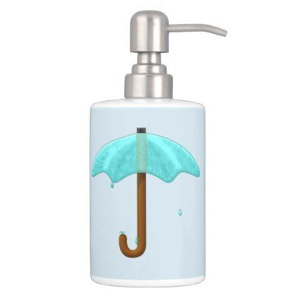 Water Umbrella - bathroom set | Pinterest