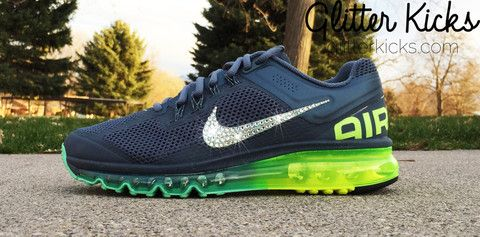 Love these custom 2014 Air Max by Glitterkicks.com. Nike ... 377e313e9e33
