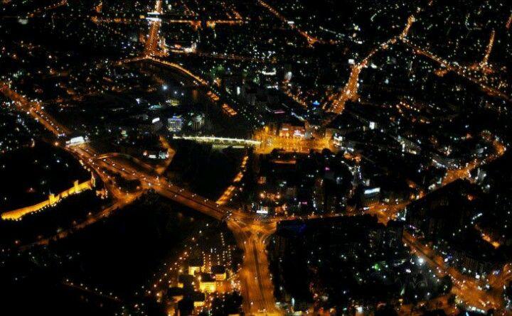 Skopje at night