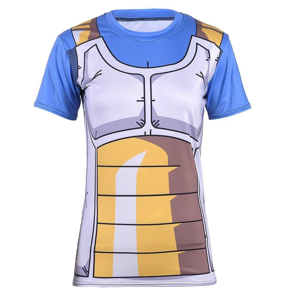 baf26c13cb2940 DBZ Vegeta Cell Saga Battle Saiyan Armor Fitness 3D Women T-Shirt  DBZ   Vegeta  Cell  Saga  Battle  Saiyan  Armor  Fitness  3D  Women  TShirt
