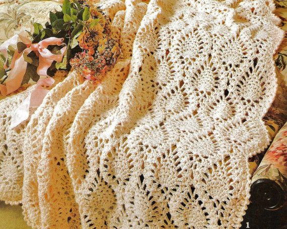 Crochet Pineapple Afghan Patterns Booklet Crochet Pineapple