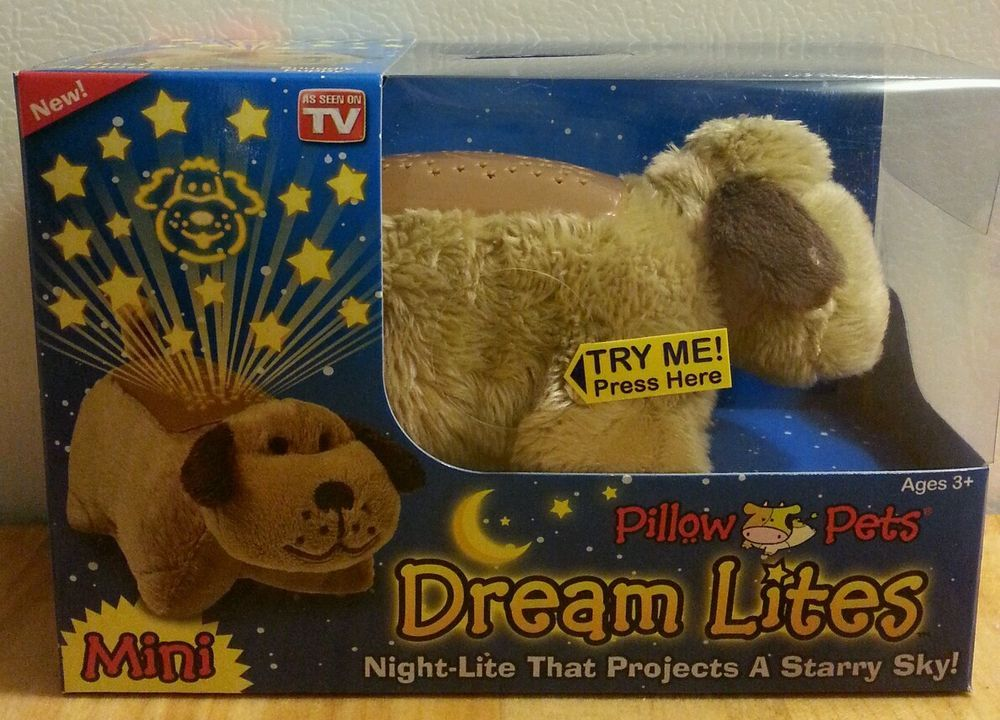 Pillow Pets Dream Lites Mini Night Light Projects Starry Sky