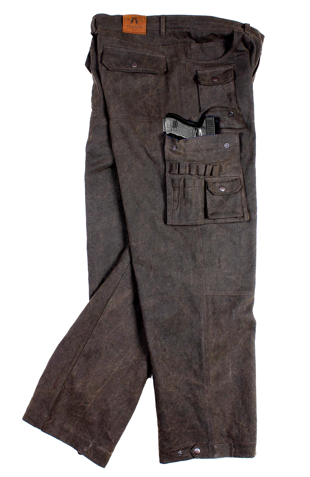 Our HOLSTER CARGO PANTS will carry your 45 or similar smaller weapon  easily. Right side holster only. Find this Pin and more on Men s Concealed  ... 6f2b294daf37d