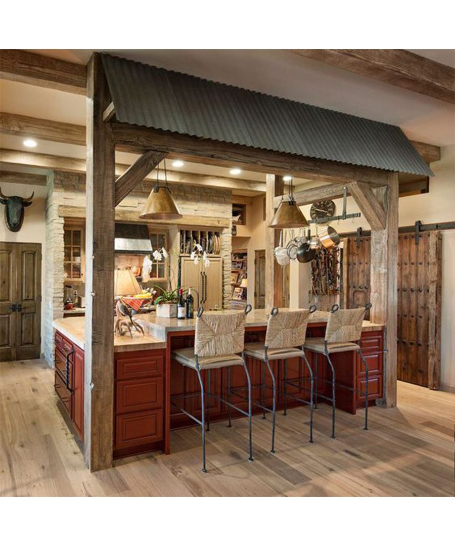 Charming Rustic Kitchen Ideas And Inspirations: Man Caves Design Inspiration