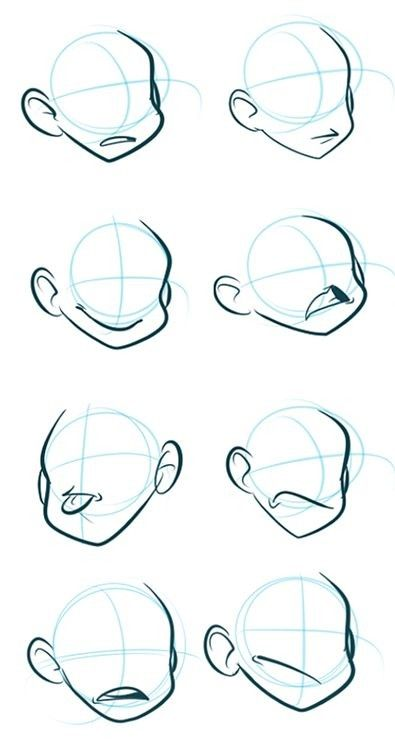 Face Mouth Expression Reference Drawing Cartoon Characters Drawing Cartoon Faces Cartoon Art Styles