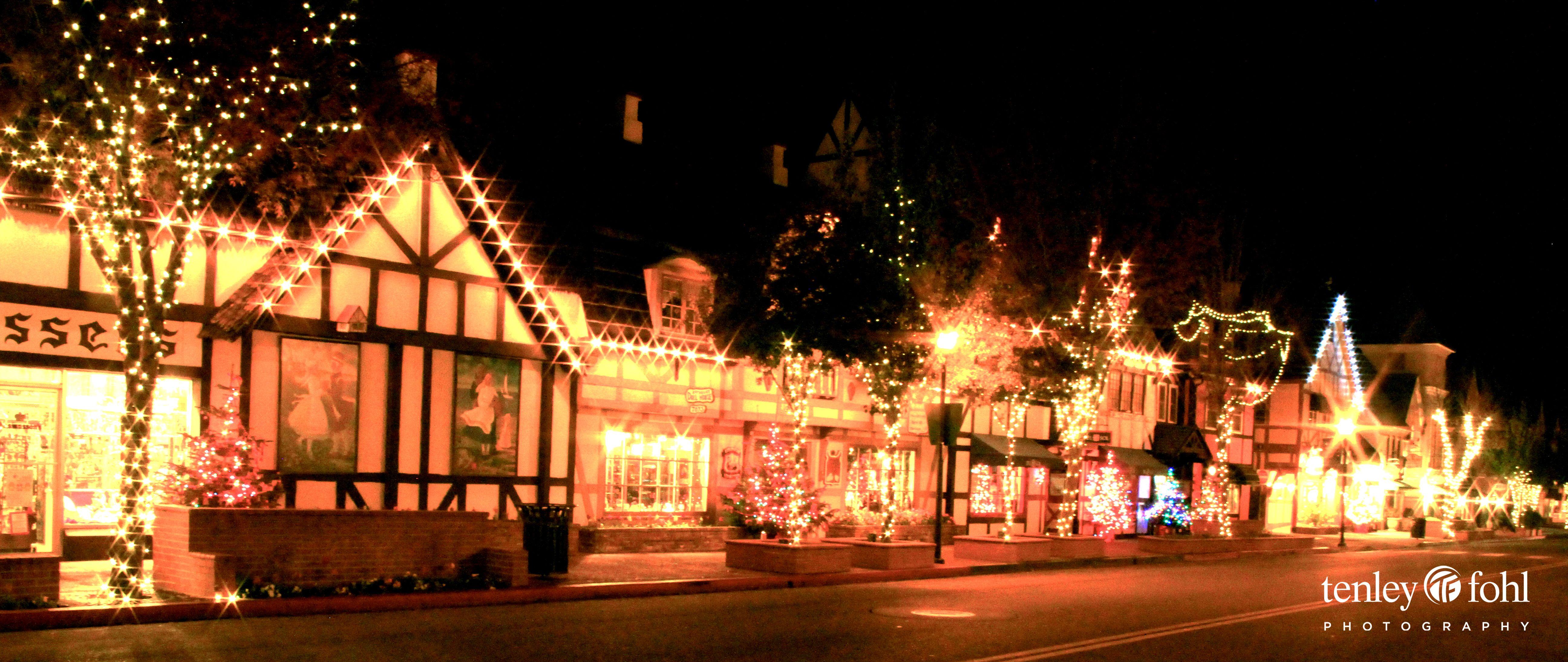 Solvang Ca Christmas.Solvang Ca At Christmas Near Santa Barbara Christmas In