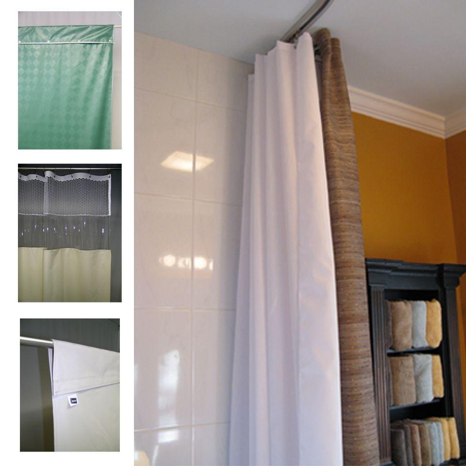 Longer Length Shower Curtains | Shower Curtain | Pinterest