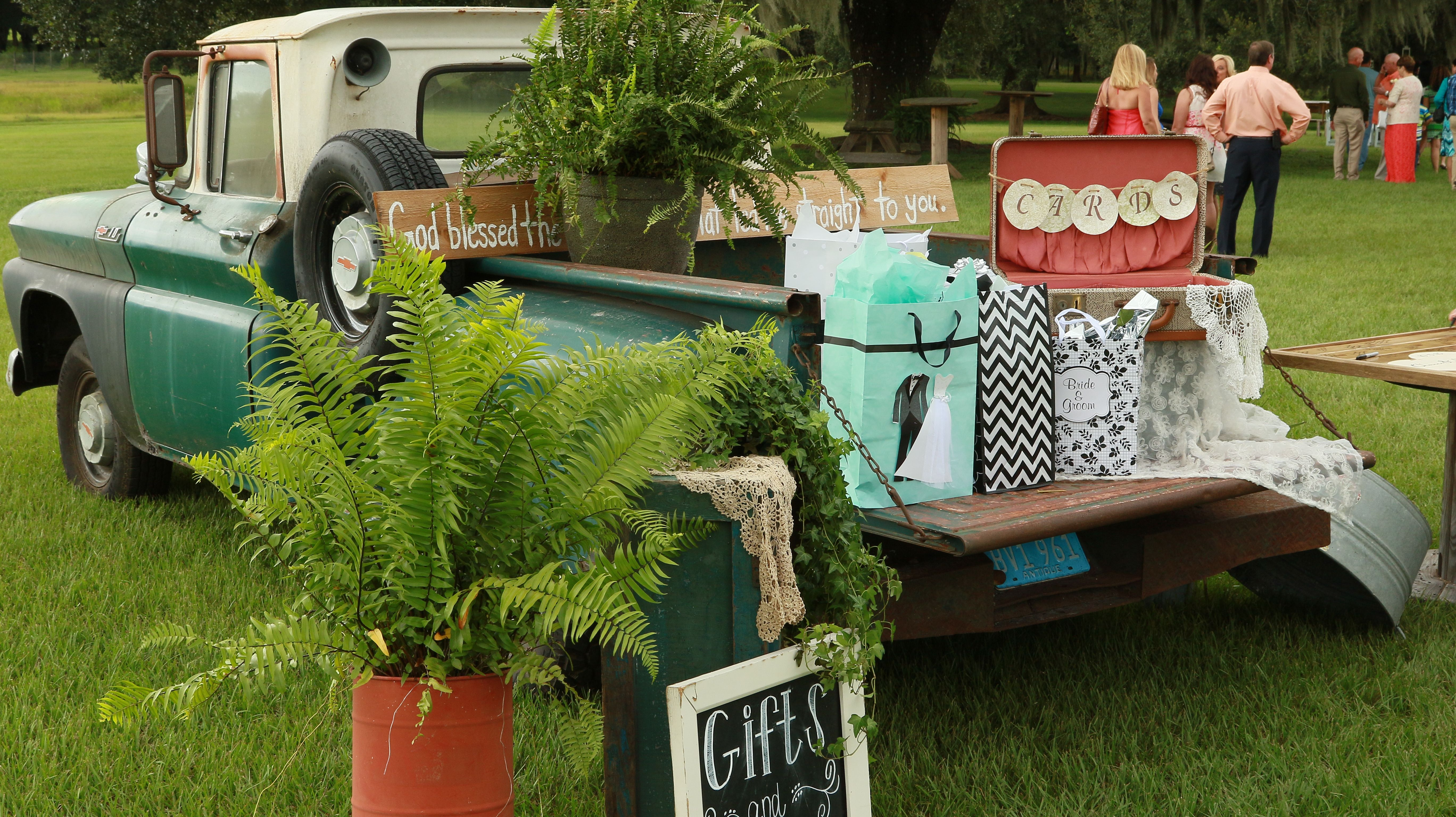 How about an old 65 Ford F150 for your gift table? S Bar S Barn in ...