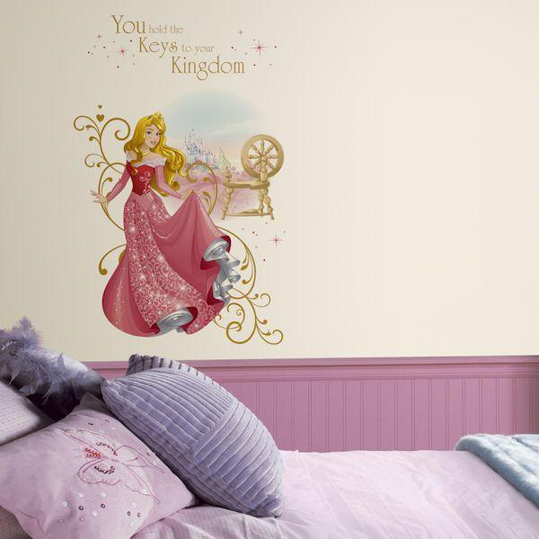 Princess Cinderella Custom Vinyl Wall Decals Peel and Stick Wallpaper AH111