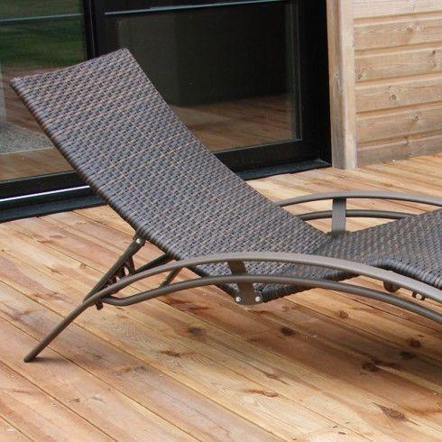 bain de soleil chaise longue
