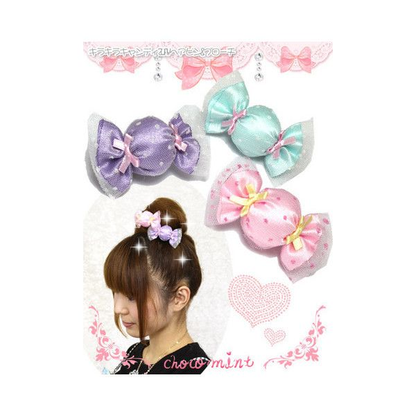 Rakuten Ichiba - Miscellaneous Accessories - Sweets * chocomint *... ❤ liked on Polyvore featuring accessories, lolita, angelic pretty, chocomint and fairy kei
