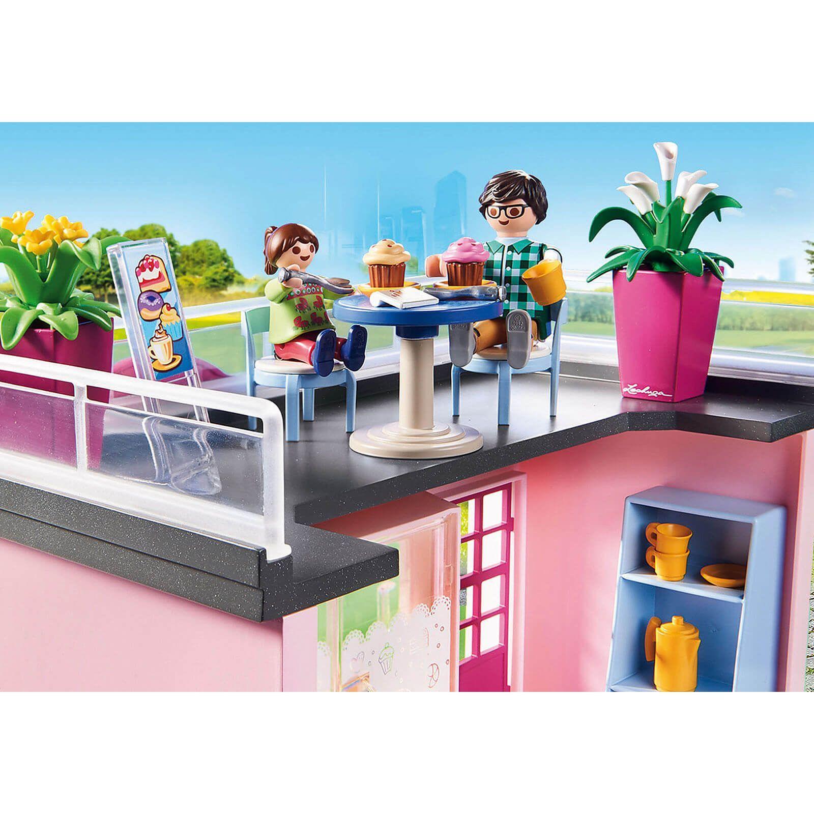 Playmobil City Life My Cafe 70015 Cafe City Life Playmobil Playmobil Flower Shop Tree House Kids