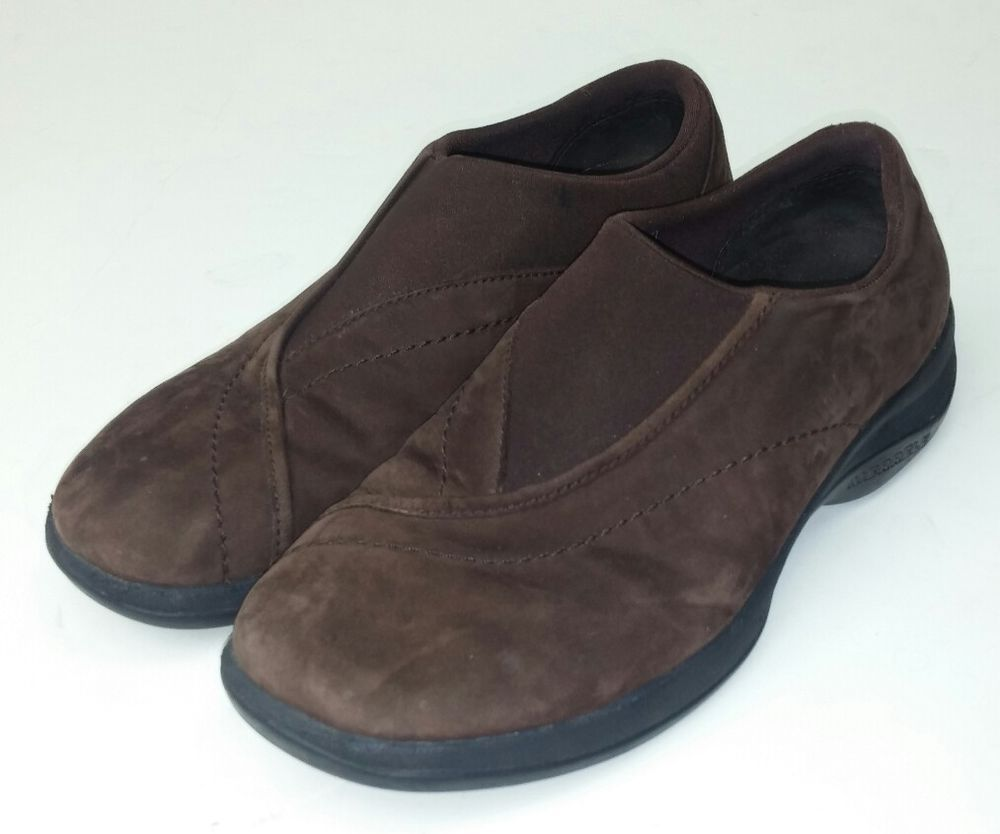 3f7549333c4de Merrell Women's Size 8 Shoes Topo Curve Brown Suede Leather Slip Slide On  Comfy #Merrell #Comfort #Casual