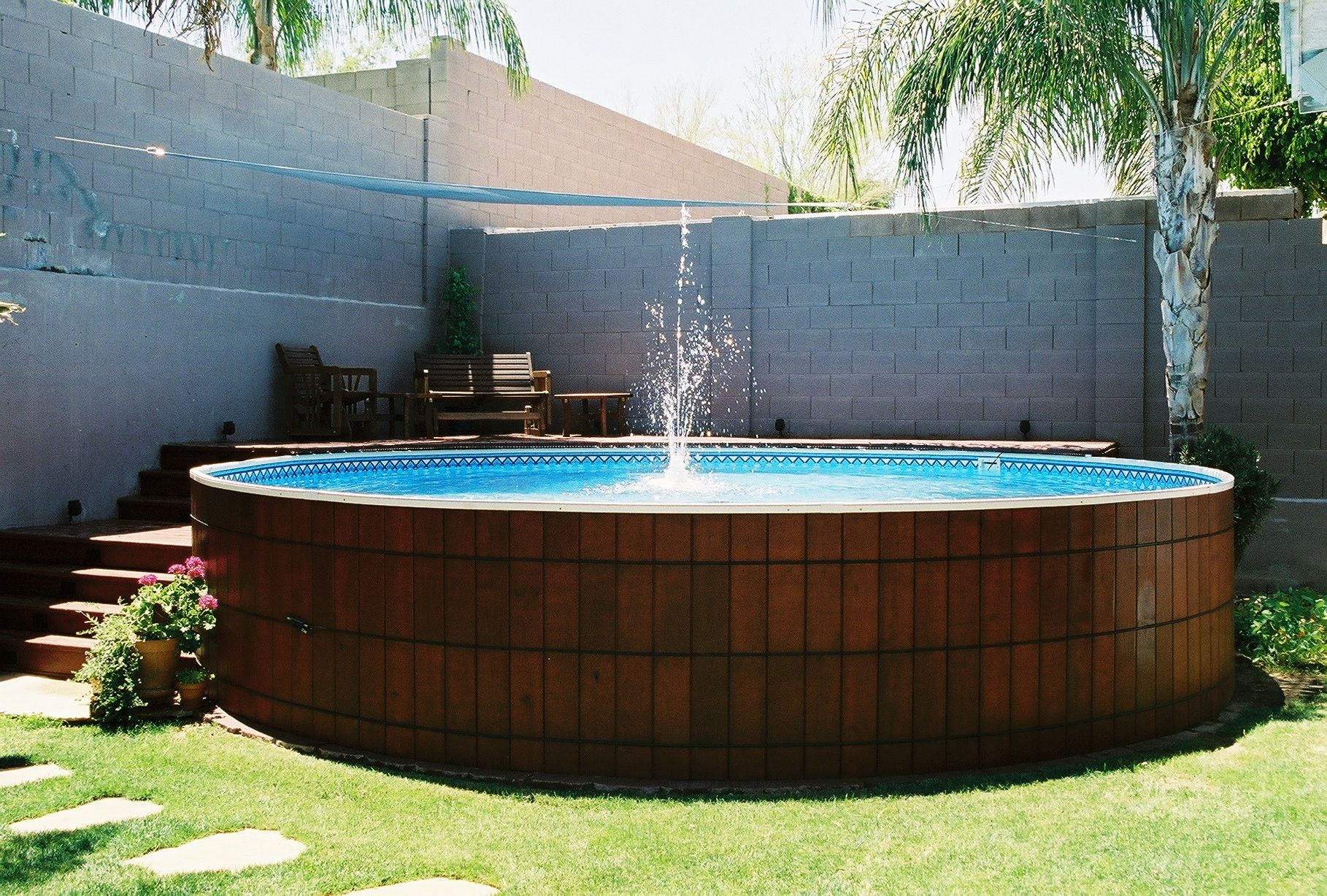 arizona round pools pinterest woods ground pools and photo