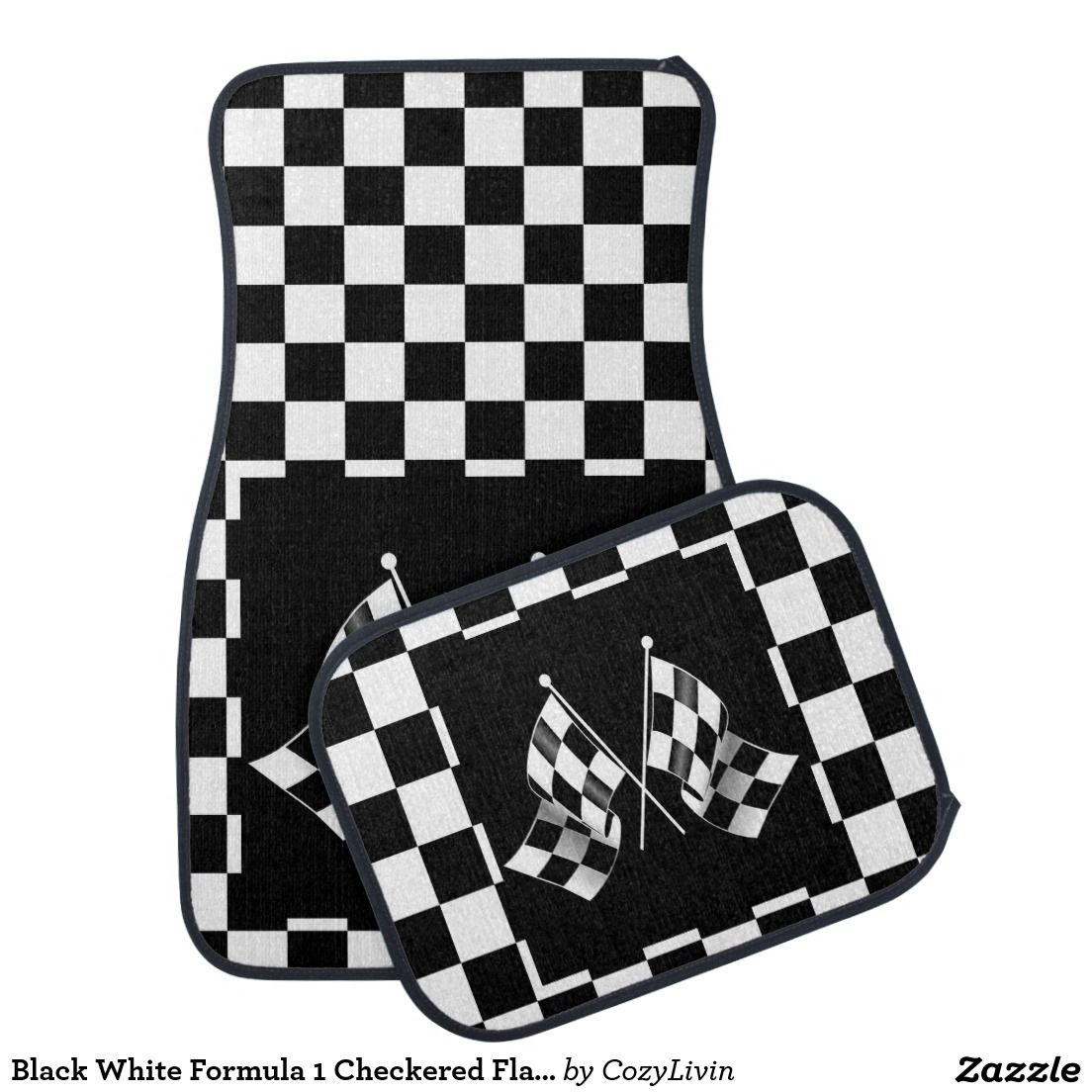 Pin On F1 Checkered Flags Race Car Sport