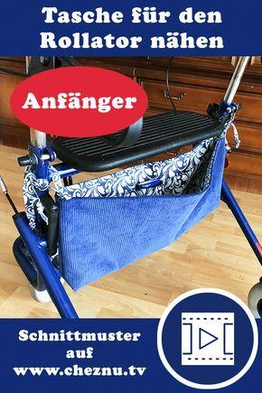 Photo of Ob du die Tasche für den Rollator gehört oder für den Kinderwagen, auf die Sto …