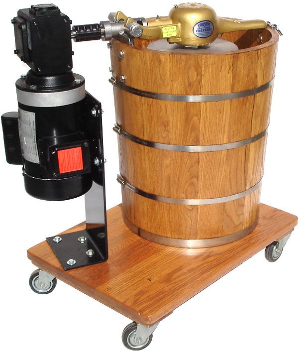 This 20 Qt Old Fashion Ice Cream Maker Is Becoming Popular With