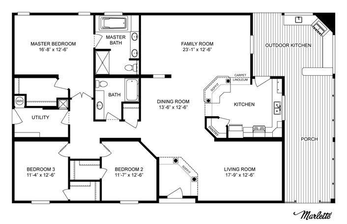 Floor Plan Clayton Homes Home Floor Plan Manufactured Hom House Floor Plans Clayton Homes House Plans