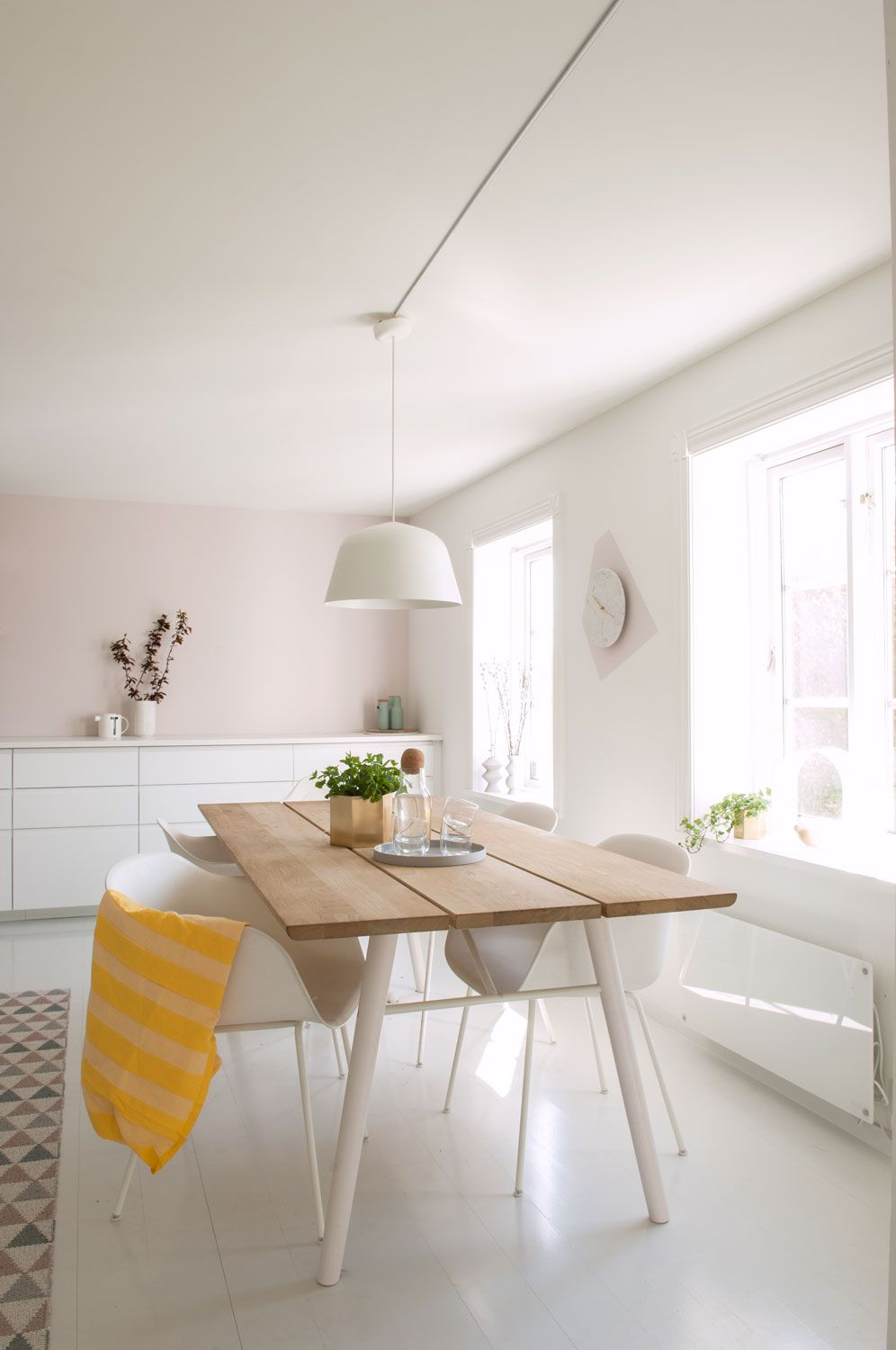 Norwegian home with pink touches follow gravity home blog