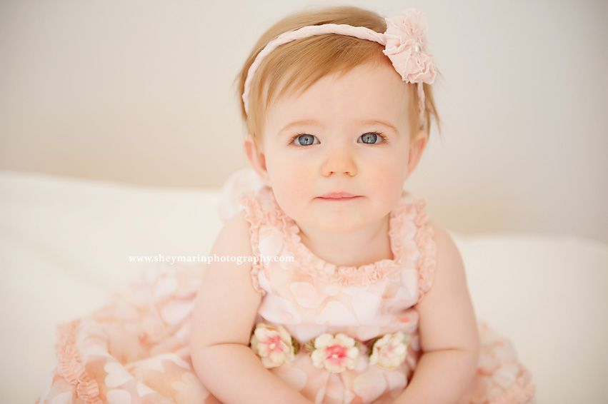 9 Month Old Sweetheart Frederick Maryland Baby Photographer