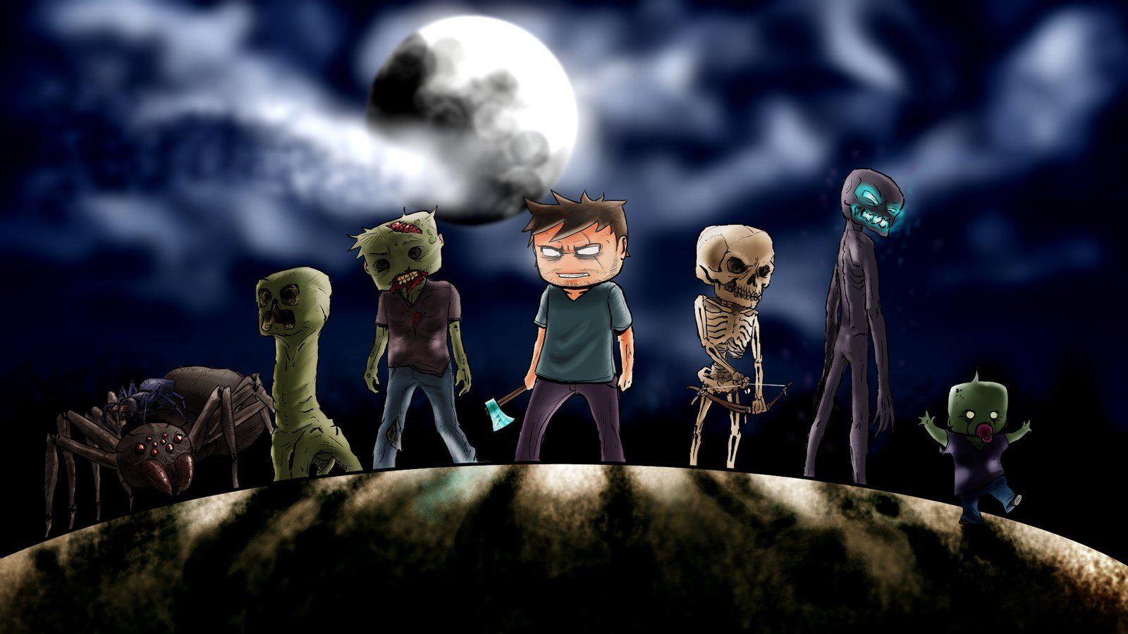 minecraft halloween Google Search Minecraft fan art