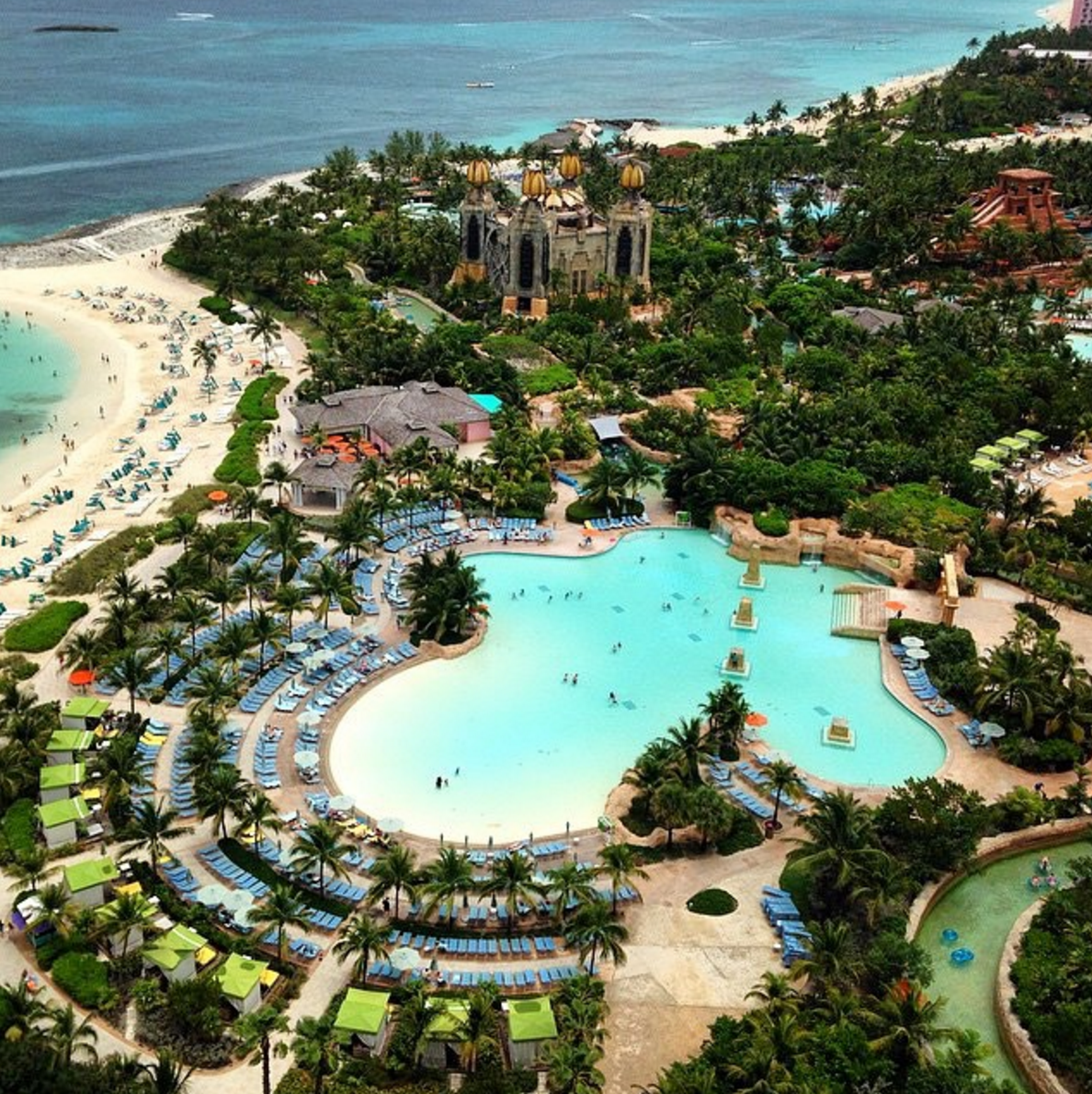 Pool Or Beach... You Decide! #AtlantisResort Photo By