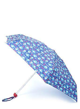 Night Time Owl Mini Flat Umbrella Pinned by www.myowlbarn.com