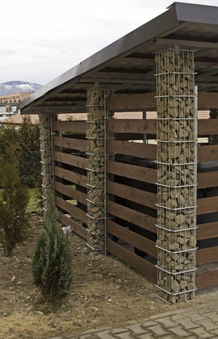 Die Modernen Carport Ideen Des Jahres Teras Fence Gabion Fence