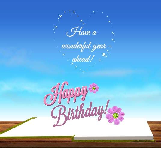 Whatsapp Someone Special A Wonderful Birthday Message With This