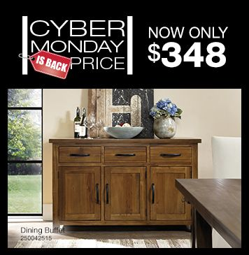 Shown Above Dining Buffet Click Now To Shop The Art Van Cyber Monday Is