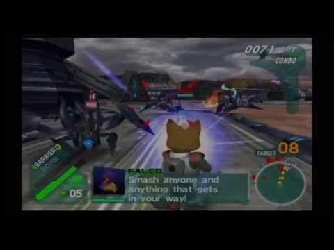 Star Fox: Assault Playthrough #2: Katina - Frontier Base Battle